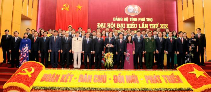 Đồng chí Bùi Minh Châu tiếp tục được tín nhiệm giữ chức Bí thư Tỉnh ủy Phú Thọ nhiệm kỳ 2020 - 2025