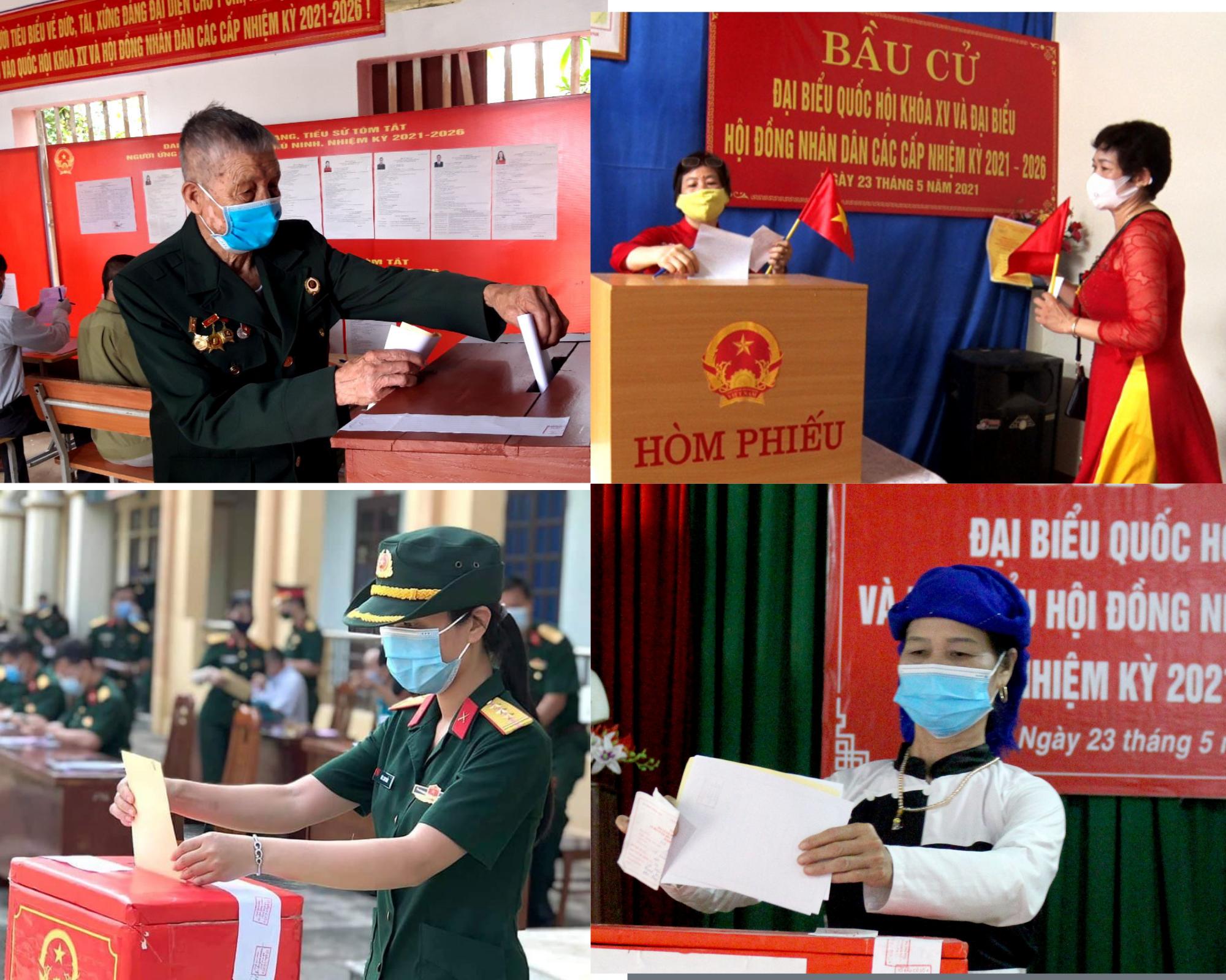 Phú Thọ hoàn thành bầu cử đại biểu Quốc hội và đại biểu HĐND các cấp, nhiệm kỳ 2021 - 2026 với tỉ lệ 99,80% cử tri đi bỏ phiếu | Cổng
